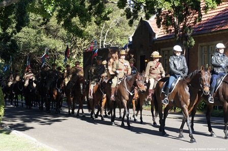 The Governors Mounted Escort